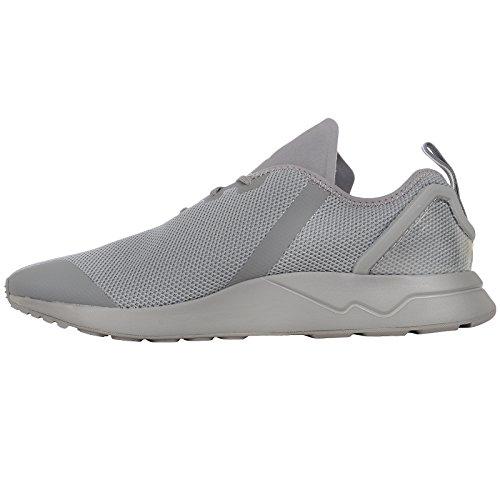 adidas ZX Flux ADV Asymmetrical, Herren Sneaker CHSOGR/CHSOGR/SPRYEL