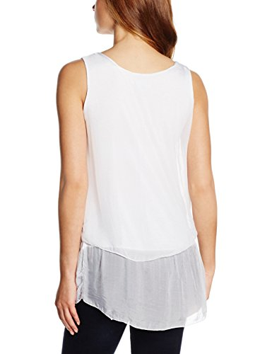Zabaione Blouse Femme Blanc - Weiß (white 10001)