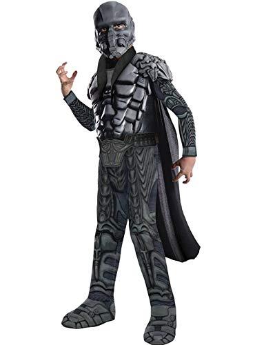 Superman Kostüm Zod - General Zod Kostüm Superman Man of Steel für Kind Größe L 140cm