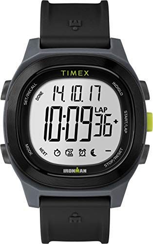 timex orologio digitale uomo con cinturino in resina tw5m18900