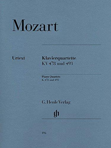 Klavierquartette, KV 478 und 493/Piano quartets K. 478 and 493
