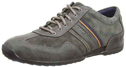 Grau Camel (camel active Space 24, Herren Sneakers, Grau (Anthracite 02), 44 EU (9.5 Herren UK))