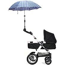 VANKER Durable ajustable soporte del sostenedor del cochecito de bebé del cochecito de niño de la