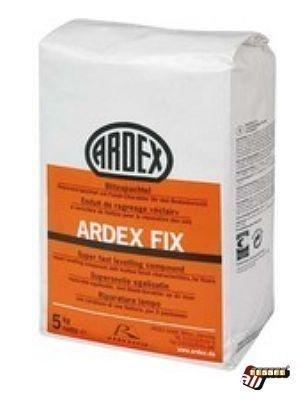 Ardex Spachtelmasse Reparaturspachtel mit Finish-Charakter für den Bodenbereich auf Zement-Basis FIX Blitzspachtel wFIX