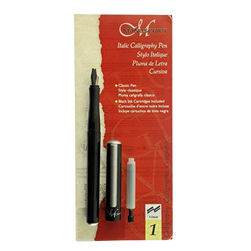 Manuscript Classic Italic Calligraphy Fountain Pen Scroll 6 (Pen Italic Fountain)