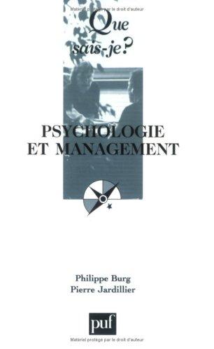 Psychologie et management