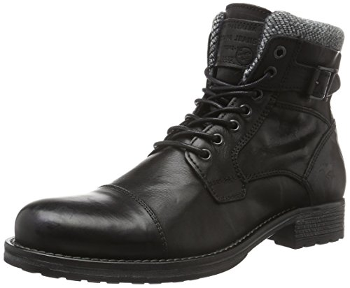Mustang Herren 4865-506 Kurzschaft Stiefel, Schwarz (9 Schwarz), 44 EU
