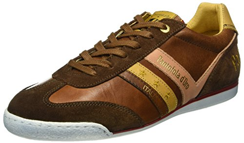 Pantofola D'Oro Herren Vasto Uomo Low Top, Braun (JCU), 45 EU