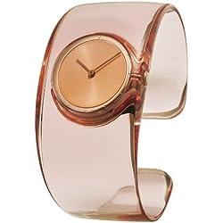 Issey Miyake Damen-Armbanduhr O Analog resin rosa SILAW003