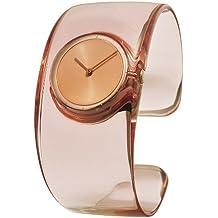 Issey Miyake SILAW003 - Reloj analógico de cuarzo para mujer con correa de resina, color rosa