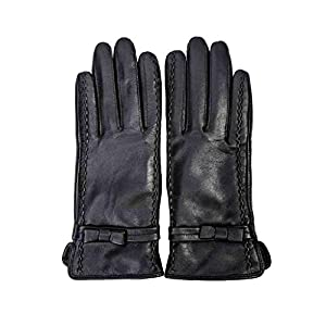 41XuKk4o0cL. SS300  - XY Gloves Winter Leather Gloves Female Plus Thick Cycling Gloves Outdoor Touch Screen Gloves