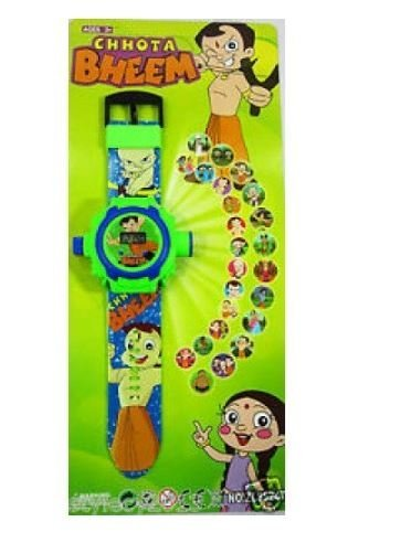 CHOTA BHEEM PROJECTOR WATCH FOR KID  available at amazon for Rs.84