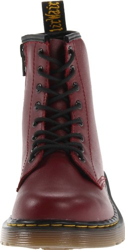 Dr Martens Delaney, Boots mixte enfant Rouge (Cherry Red)