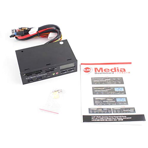 dien Dashboard 5,25 Zoll CD ROM Multifunktionspanel 525F20 Kartenleser USB Flash-Speicherkartenleser ()