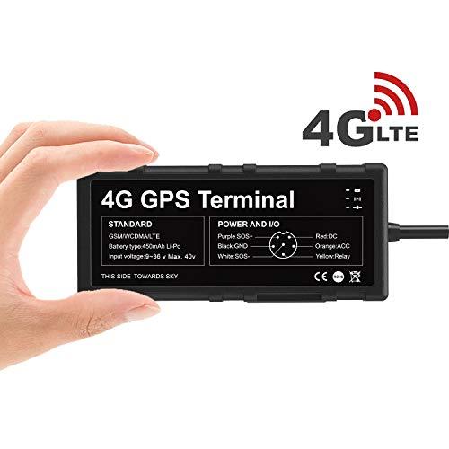 Toptellite Localizador GPS 4G para Vehículo, Dispositivo de Tracker GPS para Automóviles...