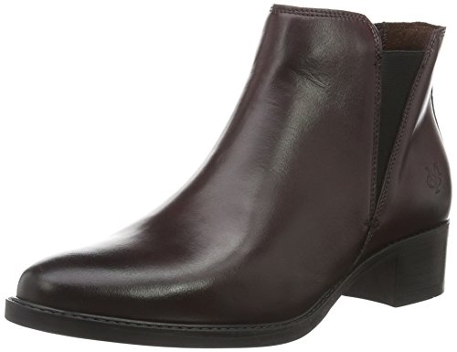 Marc O'Polo Damen 60712785101115 Chelsea Boots Rot (wine 385)