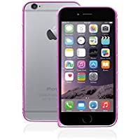 Ideus BPIP6MLLFU - Bumper metálico para Apple iPhone 6, color rosa
