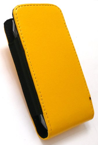 Emartbuy Value Pack Für Lg Gc900 Viewty Smart Gelb (Größe Small) Slide In Der Tasche Hülle Case + Lcd Screen Protector + Kompatibel Kfz-Ladegerät Viewty Smart Screen