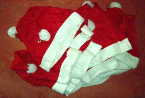12 Stück Weihnachtsmütze mit Glöckchen,Weihnachtsmannmütze, - Für Erwachsene Kröte Kostüm