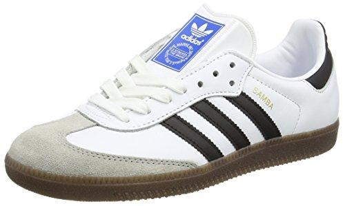 adidas Men's Samba Og Gymnastics Shoes, Off White (FTWR White/Core Black/Clear Granite), 5 UK