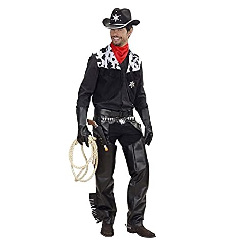 Cowboy Costume Gunfighter - Déguisement cow boy adulte - Taille L