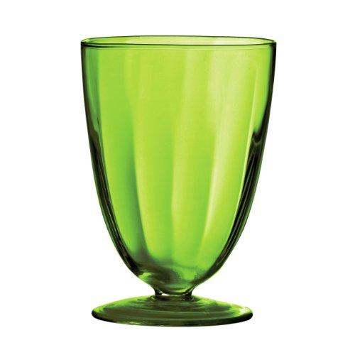 atractivo-plato-de-helado-hecha-de-vidrio-verde-y-diseno-en-forma-de-redondo