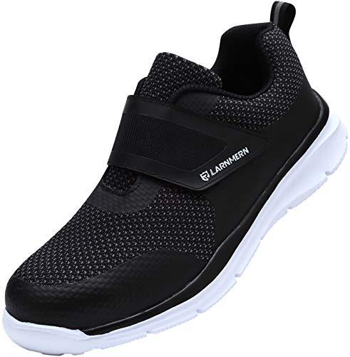 Zapatos de Seguridad para Hombre Mujer, SRC Antideslizante Zapatillas de Seguridad Trabajo con Puntera...