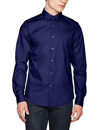 G-Star Raw Core Shirt L/S, Camicia Uomo Blu (Imperial Blue 1305)