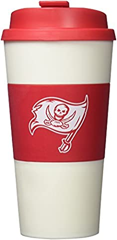 NFL Tampa Bay Buccaneers Sleeved Travel Tumbler, 16-ounce