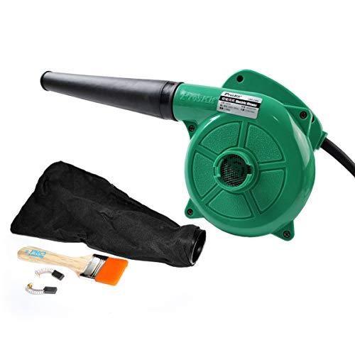 Soffiatore Elettrico Aspirafoglie Portatile - Pro'sKit UMS-C002 Aspiratore Ventilatore Usato per Pulire Computer, Polvere, Foglia di Albero