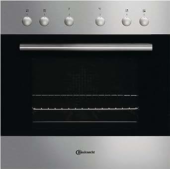 Bauknecht EMC 7253de feux dans Cuisinière électrique/A/encastrable en acier inoxydable/commande cookmatic/fonction maintien au chaud