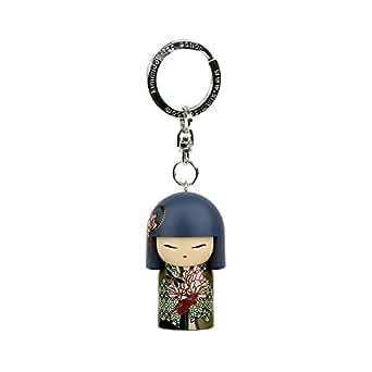 Porte clé Kokeshi Kimmidoll 5cm Misayo - sérénité