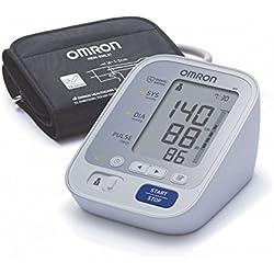 OMRON M3 Tensiomètre Électronique Compact, Détection de Pulsations Cardiaques irrégulières, Technologie IntelliSense, Validé Cliniquement