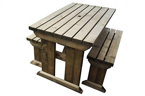 Tavolo pieghevole da giardino picnic con sgabelli soriani pic