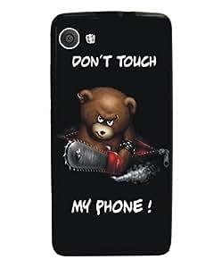 Techno Gadgets back Cover for Intex Aqua Lions 3G