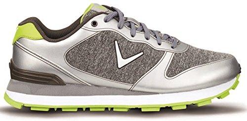 sale retailer fcede 2ffe5 Callaway Series-Chev Vent Zapatillas de Golf, Hombre, Varios Colores (Plata