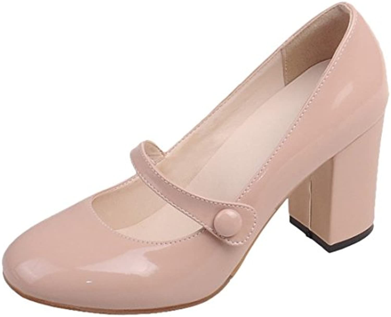 ae814ae1b75 Artfaerie High Women s Block Heel Parent Mary Janes Court Chunky High Heels  Round Toe Elegant Court Shoes B07F2NXW1P Parent 6b07e3a -  www.wildaggressivedog. ...