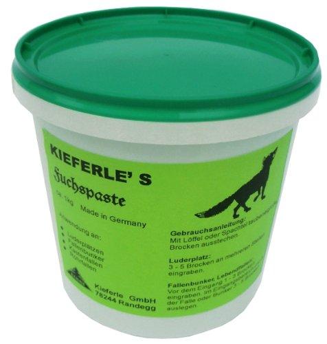 Kieferle Fuchspaste 1 kg Fuchs und Raubwild Lockmittel