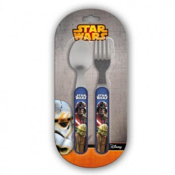 Star Wars Kinderbesteck (2-teilig) [Metall] [Edizione: Germania]