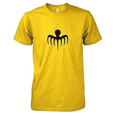TEXLAB - Bond 24 - Herren T-Shirt, Größe M, gelb (James Bond 007 Kostüme)