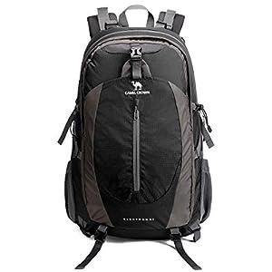 41XuXDhNezL. SS300  - CAMEL CROWN Travel Backpack 50L Rucksack Waterproof Hiking Backpack Lightweight Daypack for Outdoor Camping Trekking Walking