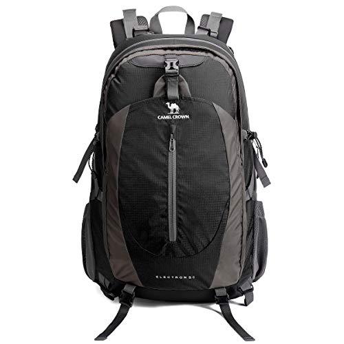 41XuXDhNezL. SS500  - CAMEL CROWN Travel Backpack 50L Rucksack Waterproof Hiking Backpack Lightweight Daypack for Outdoor Camping Trekking Walking