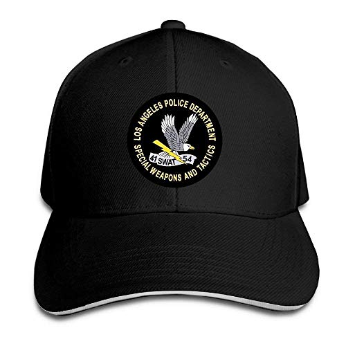 PD SWAT Logo Noveity Adjustable Trucker Cap&Sandwich Baseball Cap ()