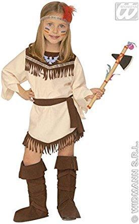 Kinder-Kostüm-Set Indianerin, Größe 110