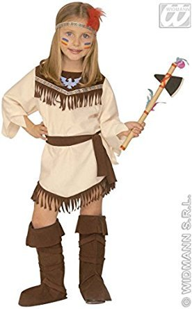 Kinder-Kostüm-Set Indianerin, Größe (Fancy Kleid Kinder Ideas)