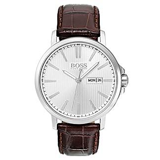 Hugo BOSS Reloj Análogo clásico para Hombre de Automático con Correa en Cuero 1513532