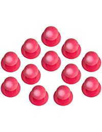 DESERMO 24x Kugelknöpfe für Kochjacken im Vorrats-Set - Kochjackenknöpfe - Erhältlich (pink)