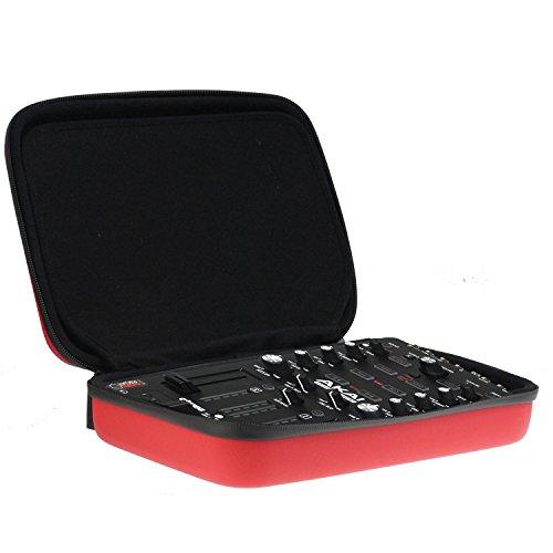 Navitech Rot Tragbarer DJ Controller Tasche Schutz hülle für den AKAI AFX Controller for Advanced Serato DJ Performance