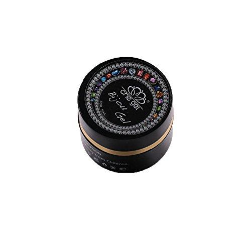 6G nail art décorations bijoux gemmes adhésif colle UV LED tremper OFF che gel