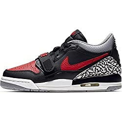 Nike Air Jordan Legacy 312 Low (Gs) - black/varsity red-black-cement grey, Größe:7Y